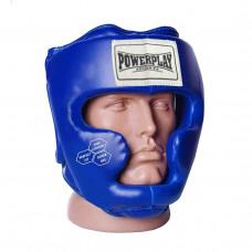 Боксерский шлем тренировочный PowerPlay 3043 S Синий