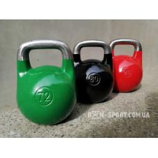 Гири чугунные RN-Sport цветные. Вес от 8 кг до 96 кг