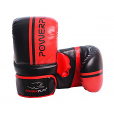 Снарядные перчатки PowerPlay 3025 Черно-красные L