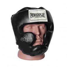 Боксерский шлем тренировочный PowerPlay 3043 L Черный