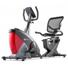 Горизонтальный велотренажер Hop-Sport HS-070L Helix iConsole red