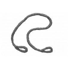Эспандер трубчатый Evrotop с нейлоновой защитой 6*9*1200, сер