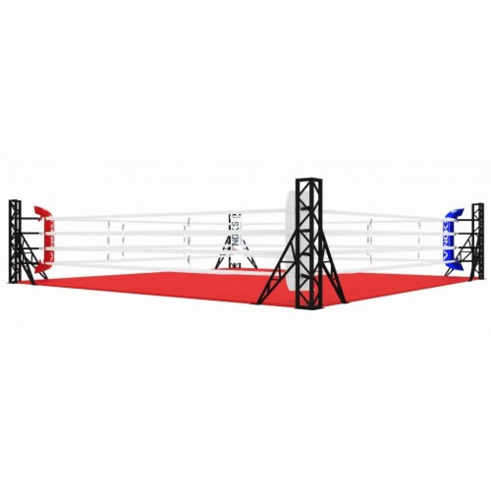 Ринг для бокса V`Noks EXO напольный 7 * 7 м
