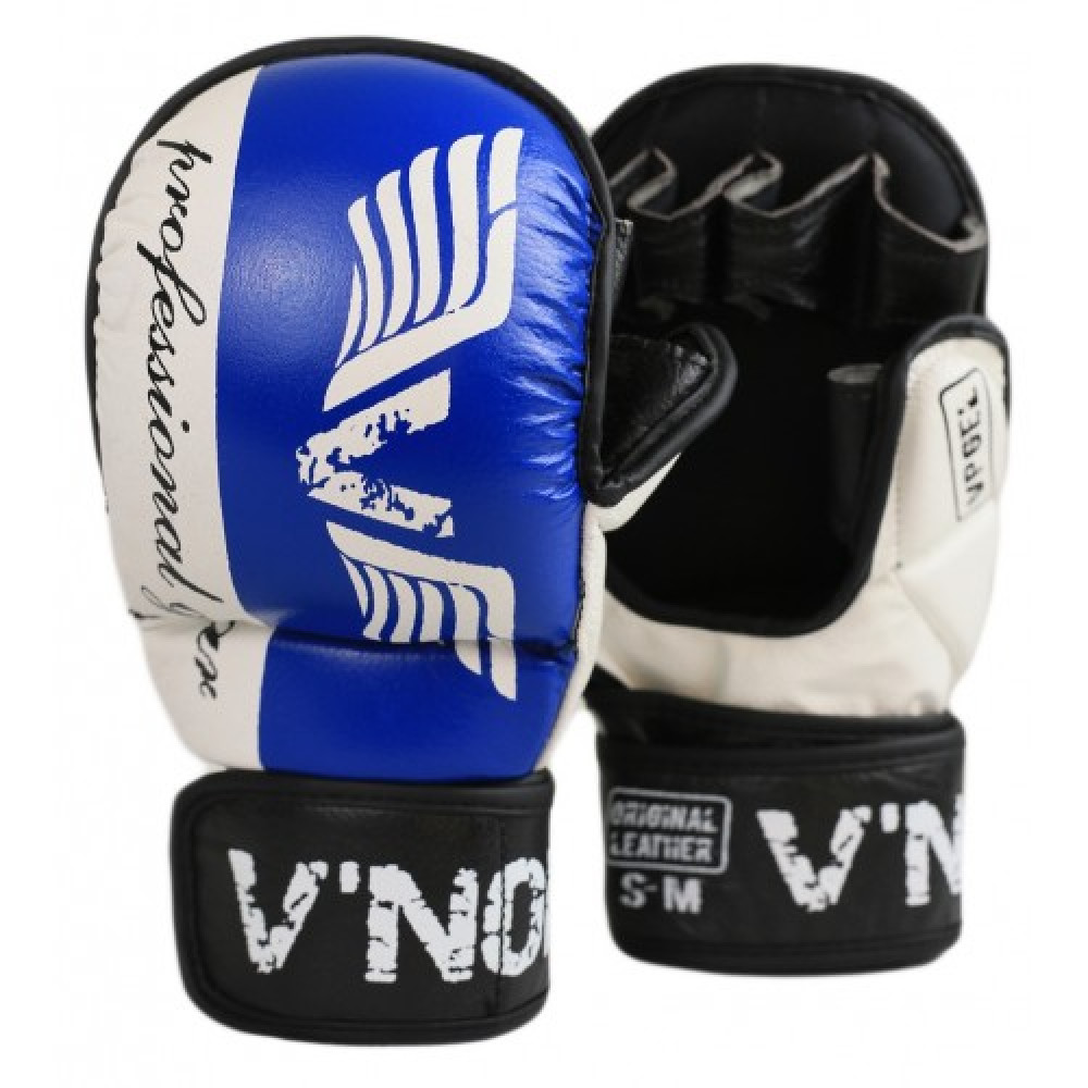 Перчатки MMA V`Noks Lotta Blue S/M