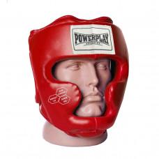 Боксерский шлем тренировочный PowerPlay 3043 Красный M