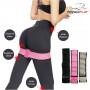 Резинка для фитнеса тканевая PowerPlay Серая