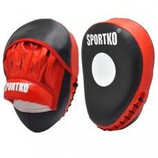 Лапы боксёрские SPORTKO Яблоко
