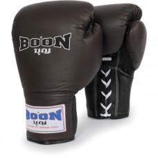 Боксерские перчатки BOON Sport Leather Lace Training