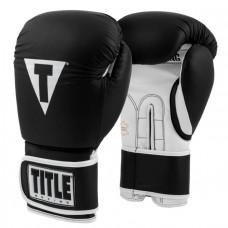 Боксерские перчатки TITLE Pro Style Leather Training Gloves 3.0