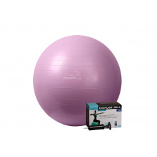 Мяч для фитнеса PowerPlay 4001 75см Фиолетовый + насос