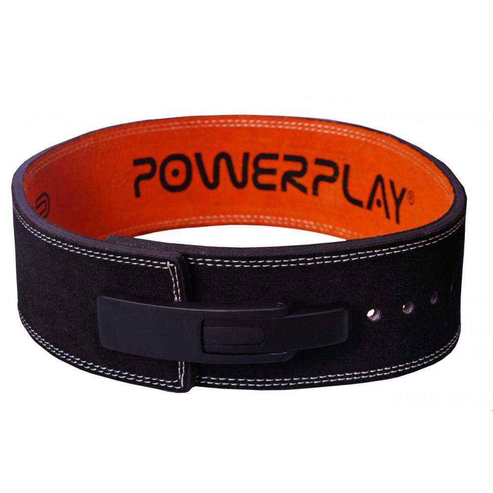 Пояс для тяжелой атлетики PowerPlay 5175 Черно-Оранжевый S