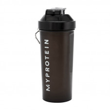 My Protein Shaker with metall bal (700 ml, black)