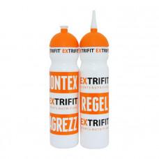 Bottle Extrifit White long nozzle (700 ml, white)