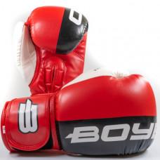 Боксерские перчатки BoyBo Speed Arm к/з 10 OZ красн. SF4-43-10