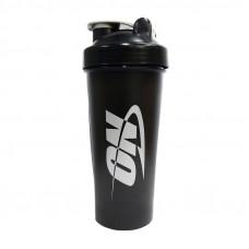 Shaker ON with metall ball (600 ml, black/grey)