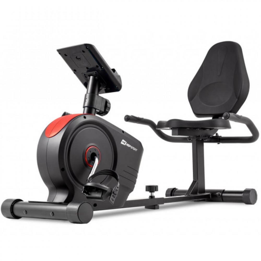 Горизонтальный велотренажер HS-2050L Beat red