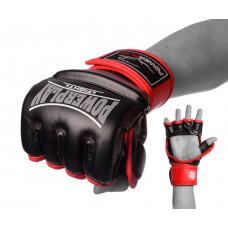 Перчатки для MMA PowerPlay 3058 Черно-красные M