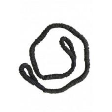 Эспандер трубчатый Evrotop с нейлоновой защитой 8*12*1200,черн