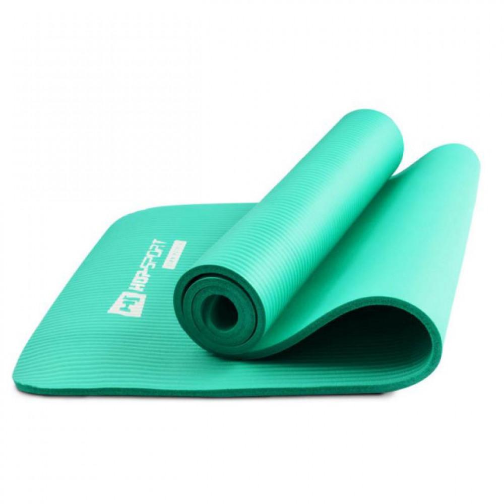 Коврик для йоги и фитнеса Hop-Sport HS-N010GM 10 мм Мятный