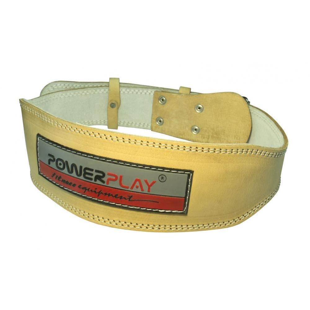 Пояс для тяжелой атлетики PowerPlay 5084 Свет коричневый XS