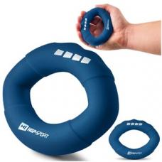 Еспандер силіконовий овальний 27,2 кг Hop-Sport HS-S027OG темно-синій