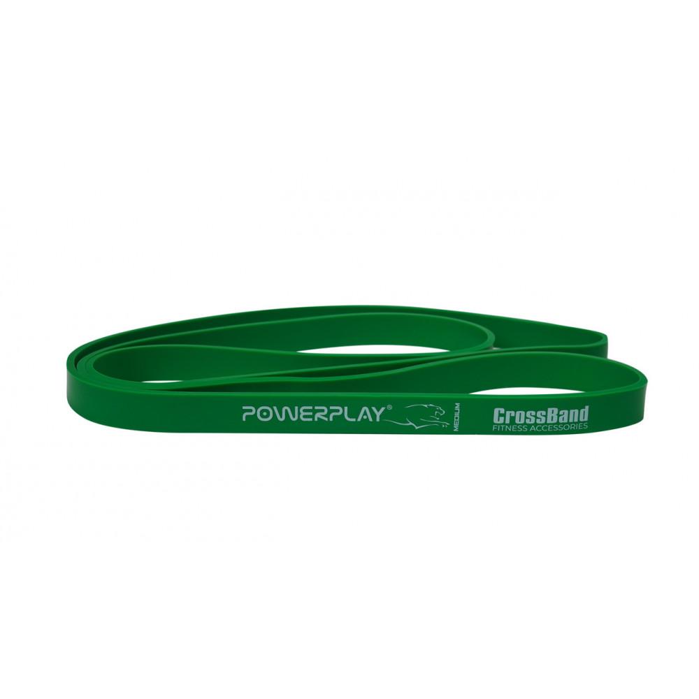 Резина для тренировок PowerPlay 4115 Green (16-32kg)