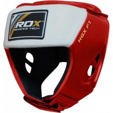 Боксерский шлем для соревнований RDX Red S