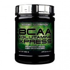 BCAA + Glutamine Xpress (300 g, lime)