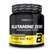 Glutamine Zero (300 g, peach ice tea)
