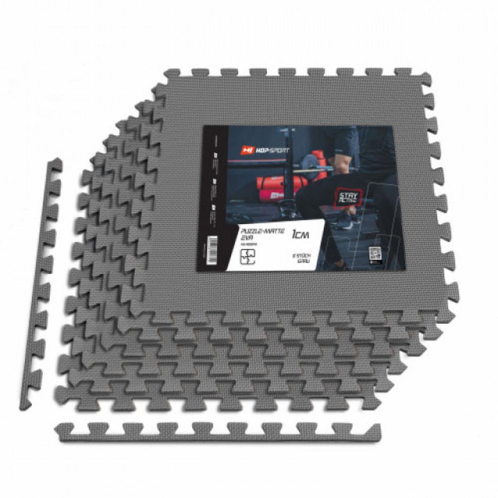 Мат-пазл EVA 1cm HS-A010PM 6 шт серый
