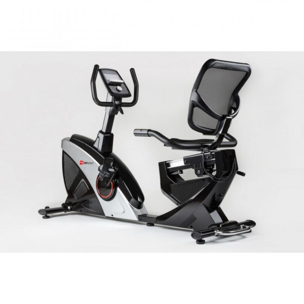 Горизонтальний велотренажер Hop-Sport HS-070L Helix iConsole+ silver