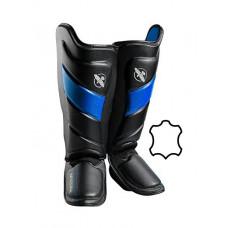 Защита голени и стопы Hayabusa T3 - Черно-синие M (Original)