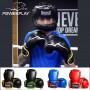 Боксерские Перчатки PowerPlay 3018 Черно-Зеленые 10 Унций
