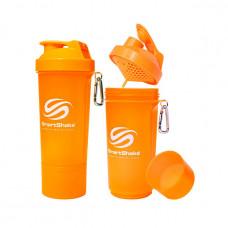 SmartShake Slim NEON Orange (500 ml, orange)