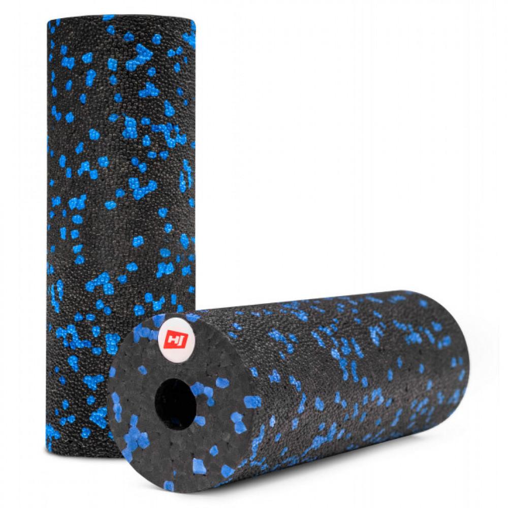 Мини массажный ролик HS-P015YG EPP 15 см blue / black