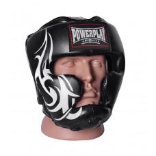 Боксерский шлем тренировочный PowerPlay 3043 XL Черный