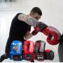 Боксерские Перчатки PowerPlay 3007 Синие Карбон 14 Унций