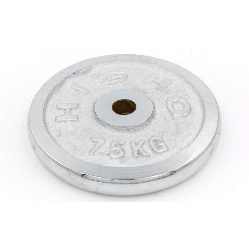 Блин хромированный 7.5 кг (31 мм)