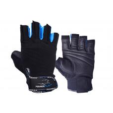 Перчатки для фитнеса PowerPlay 3092 Черно-Синие M