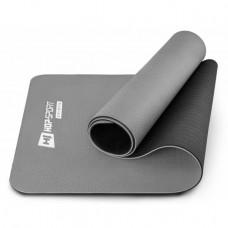 Мат для фитнеса TPE 0,6 см HS-T006GM grey