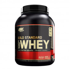100% Whey Gold Standard (2,3 kg, strawberry & cream)