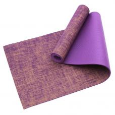 Коврик для йоги и фитнеса Jute 5мм violet