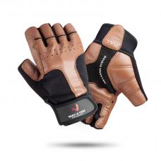 Перчатки для тяжелой атлетики и фитнеса c напульсником Way4you Мужские w-1554 L