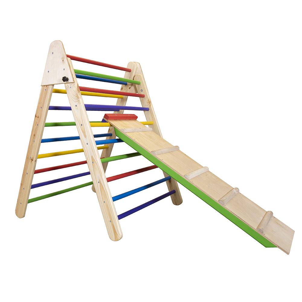 Детский деревянный тренажер пиклера - Цвет