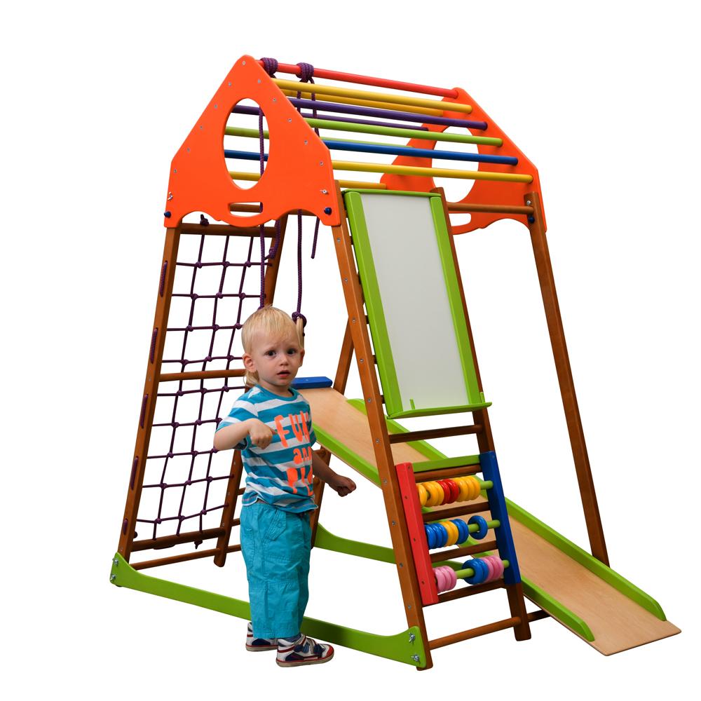 Детский спортивный комплекс для дома KindWood Plus