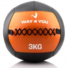 Набивной мяч (медбол) Way4you 3кг. w40145