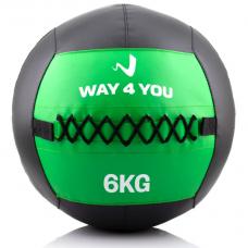 Набивной мяч (медбол) Way4you 6кг. w40146