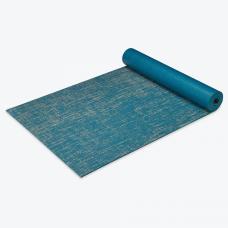 Коврик для йоги и фитнеса Jute 5мм blue