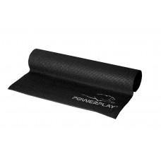 Коврик для йоги и фитнеса PowerPlay 4010 черный