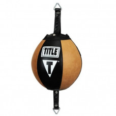 Пневмогруша на резинках TITLE Vintage Leather Double Speed Bag